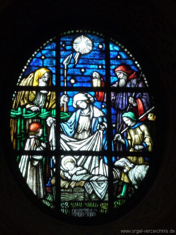 Zeuthen Martin Luther Kirche Altarfenster IV