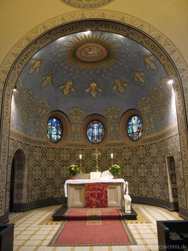 Zeuthen Martin Luther Kirche Altarraum I