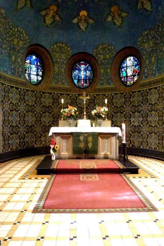 Zeuthen Martin Luther Kirche Altarraum II