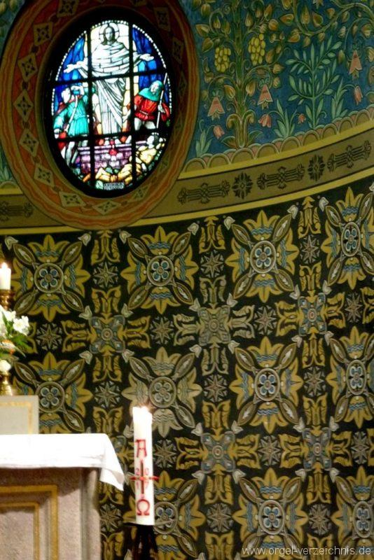 Zeuthen Martin Luther Kirche Altarraum III