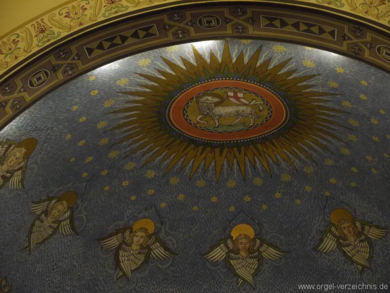 Zeuthen Martin Luther Kirche Decke II