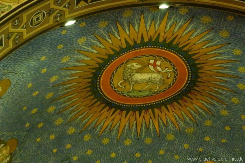 Zeuthen Martin Luther Kirche Decke III