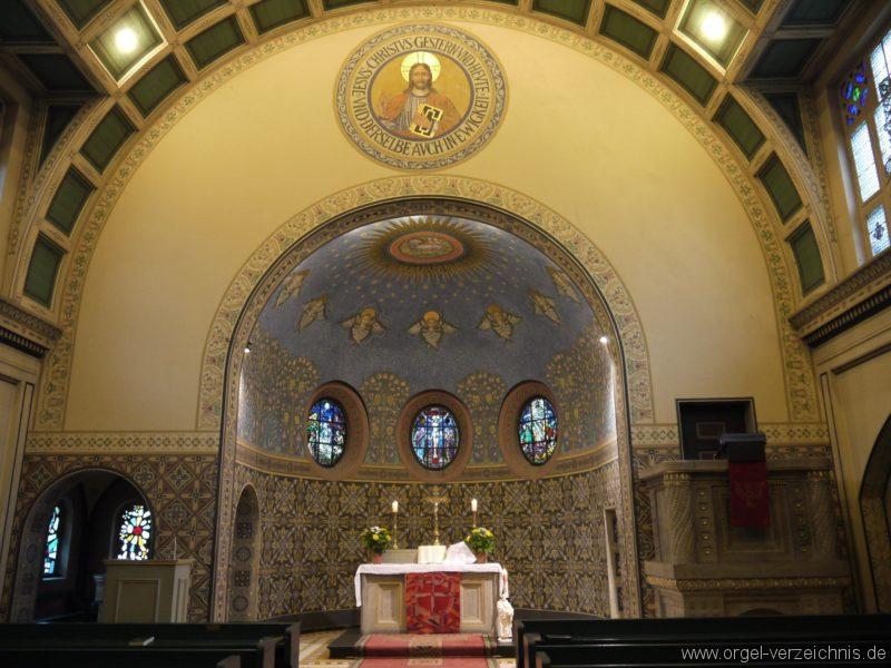 Zeuthen Martin Luther Kirche Innenansicht I
