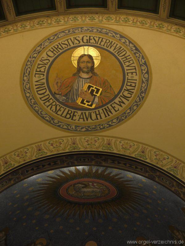 Zeuthen Martin Luther Kirche Innenansicht II
