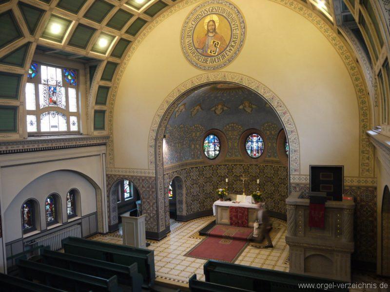 Zeuthen Martin Luther Kirche Innenansicht III