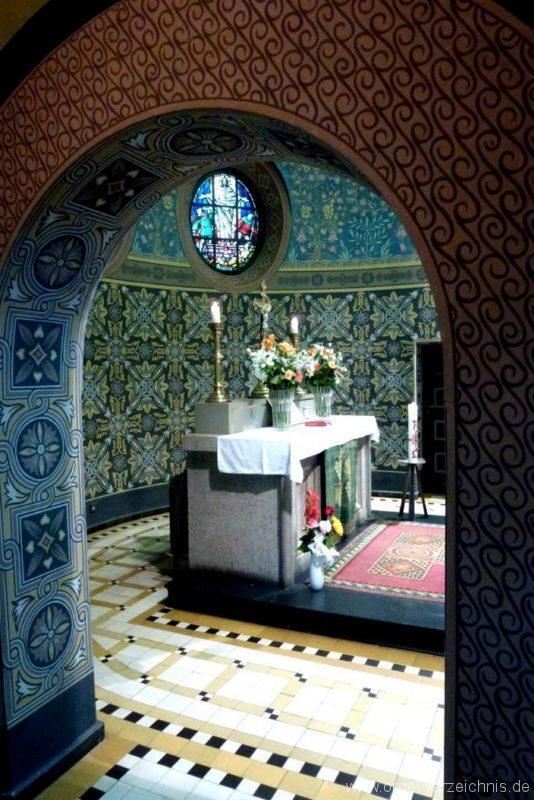Zeuthen Martin Luther Kirche Innenansicht VII