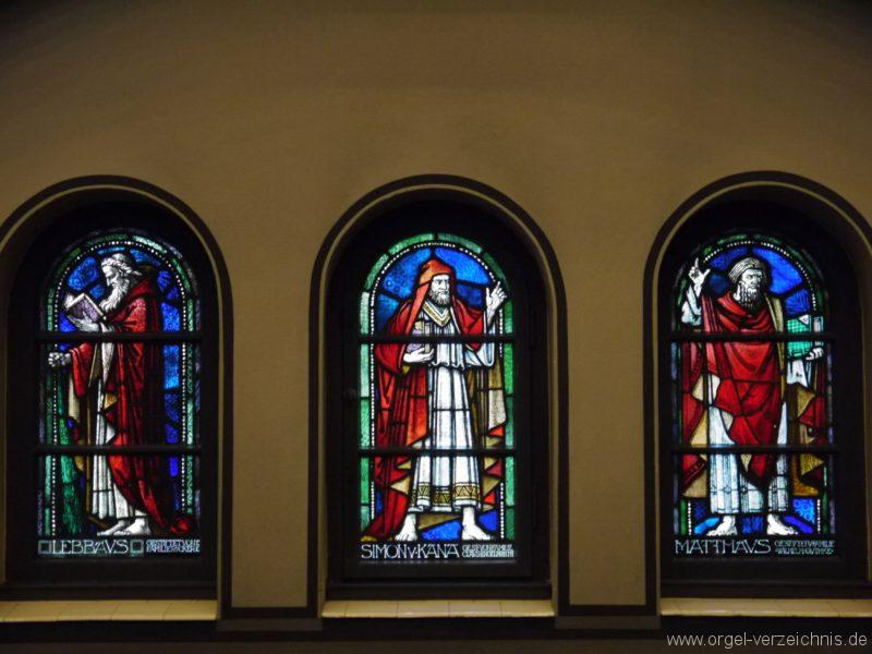 Zeuthen Martin Luther Kirche Kirchenfenster I