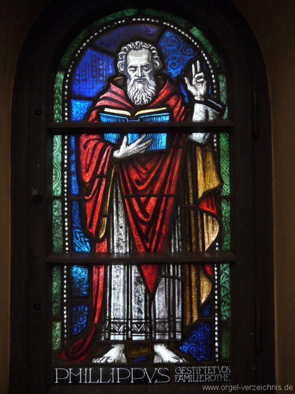 Zeuthen Martin Luther Kirche Kirchenfenster II