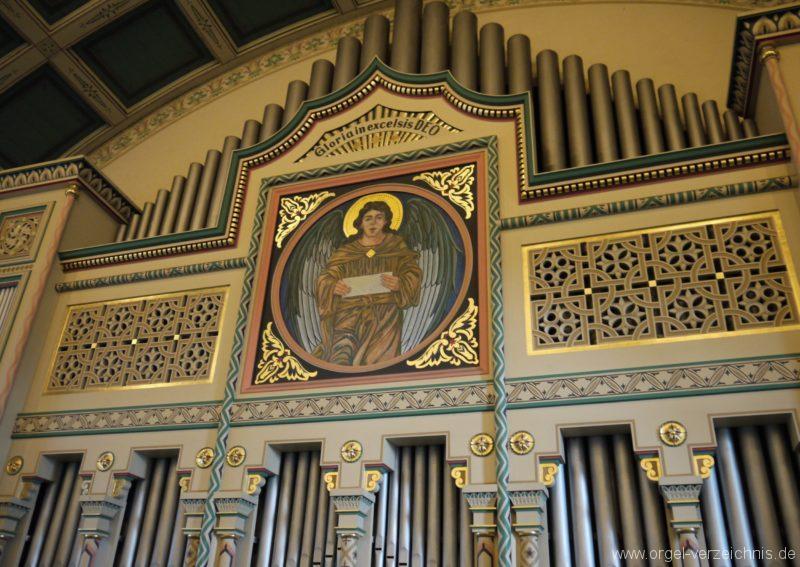 Zeuthen Martin Luther Kirche Prospekt II