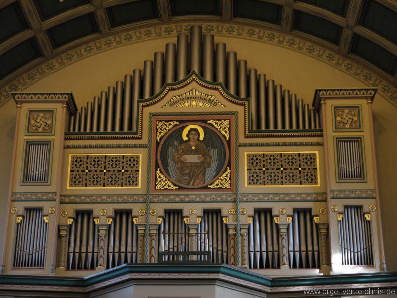 Zeuthen Martin Luther Kirche Prospekt VI