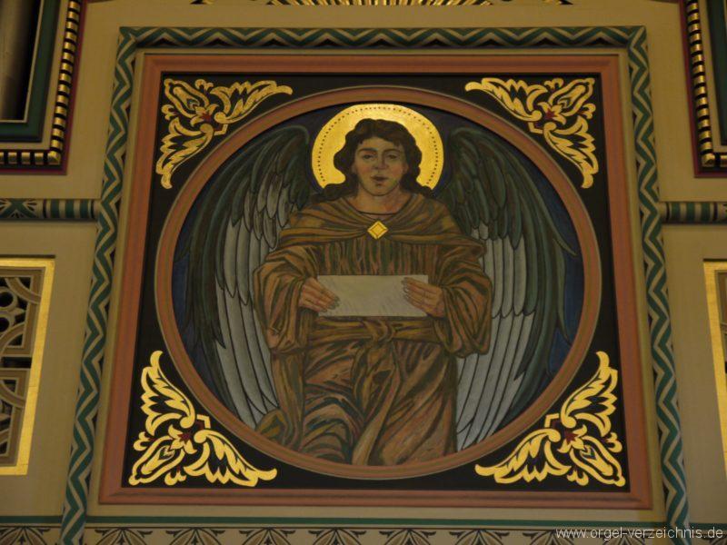 Zeuthen Martin Luther Kirche Prospektdetail I