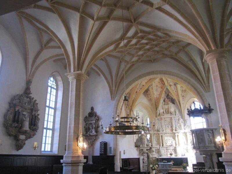 Lauenstein (Erzgebirge) Stadtkirche St. Marien und Laurentin Innenansicht I