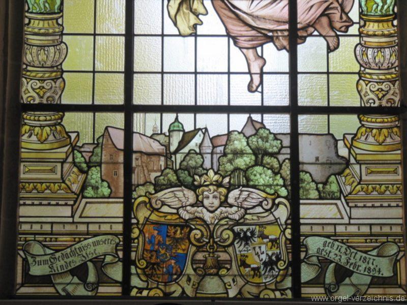 Lauenstein (Erzgebirge) Stadtkirche St. Marien und Laurentin Kirchenfenster III