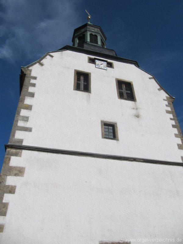 Lauenstein (Erzgebirge) Stadtkirche St. Marien und Laurentin Kirchturm I