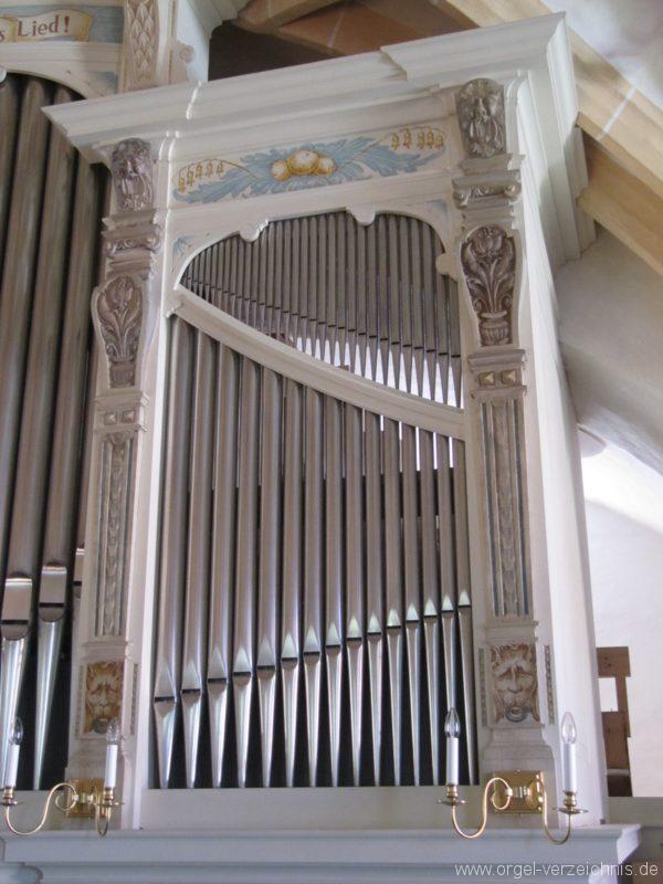 Lauenstein (Erzgebirge) Stadtkirche St. Marien und Laurentin Orgelprospekt VII