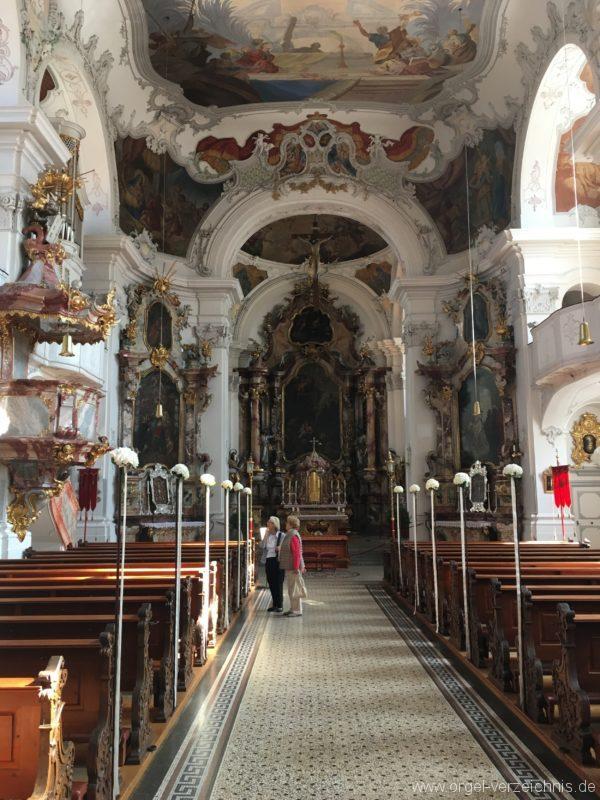 Lindau Münster Unserer lieben Frau Innenansicht V