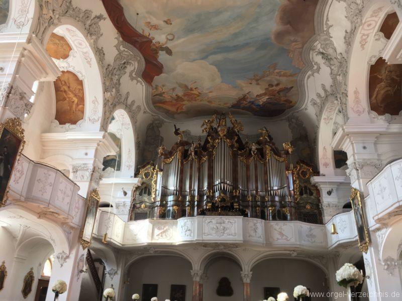 Lindau Münster Unserer lieben Frau Prospekt Hauptorgel II