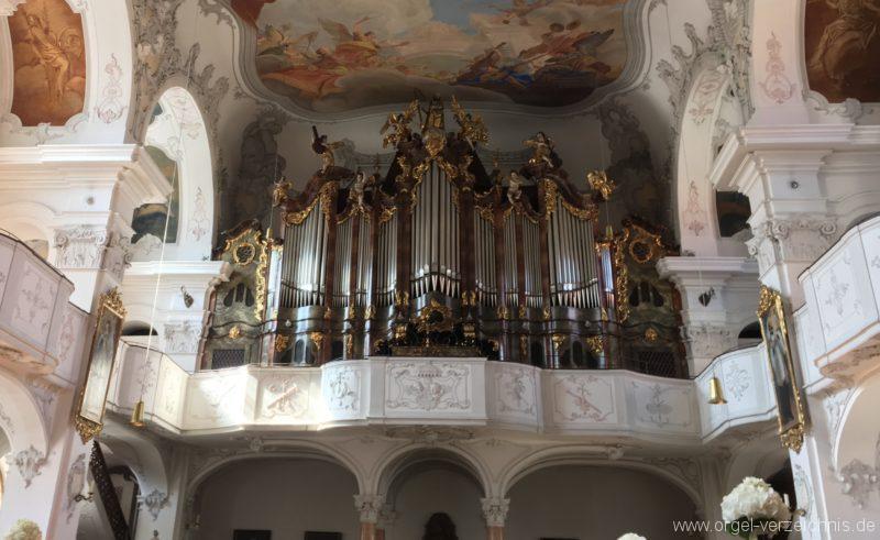 Lindau Münster Unserer lieben Frau Prospekt Hauptorgel III