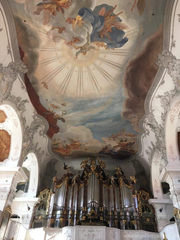 Lindau Münster Unserer lieben Frau Prospekt Hauptorgel IV