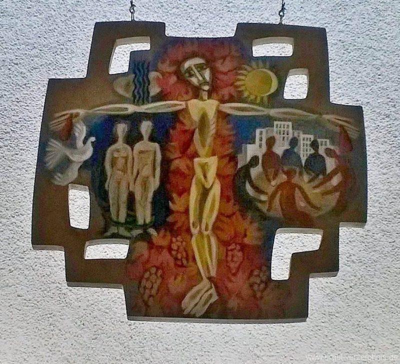 München Erscheinung des Herrn Altarbild I