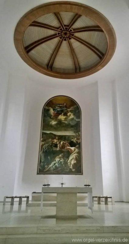 München Nymphenburg Christ-König Altarraum I