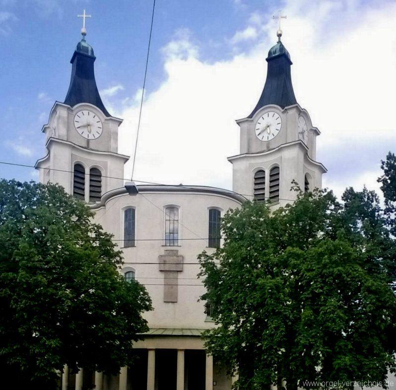 München Nymphenburg Christ-König Aussenansicht I