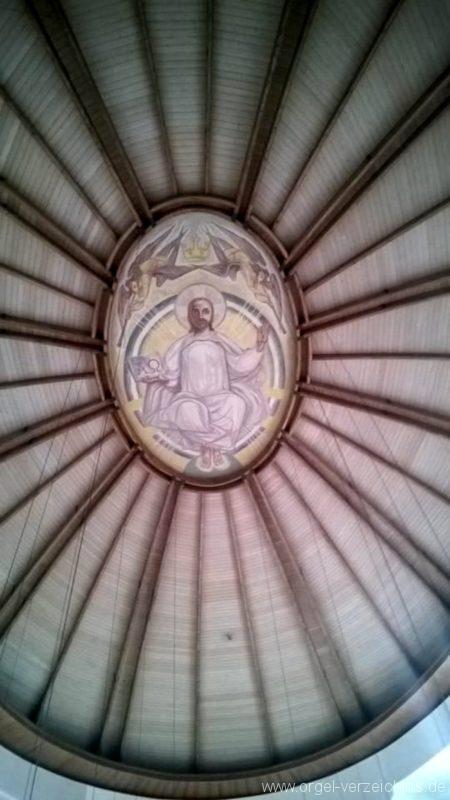 München Nymphenburg Christ-König Decke I