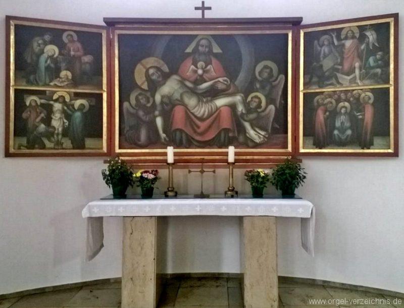 München Nymphenburg Christ-König Seitenaltar I