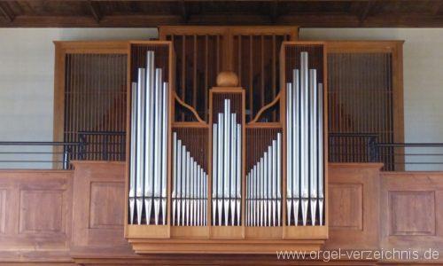 Bad Krozingen Biengen St. Leodegar Orgelprospekt4