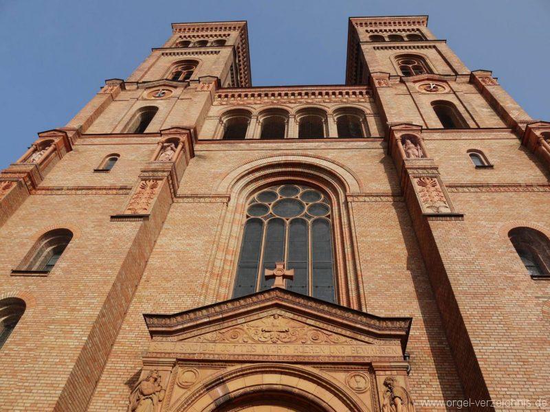 Berlin Kreuzberg St. Thomas Aussenansicht II