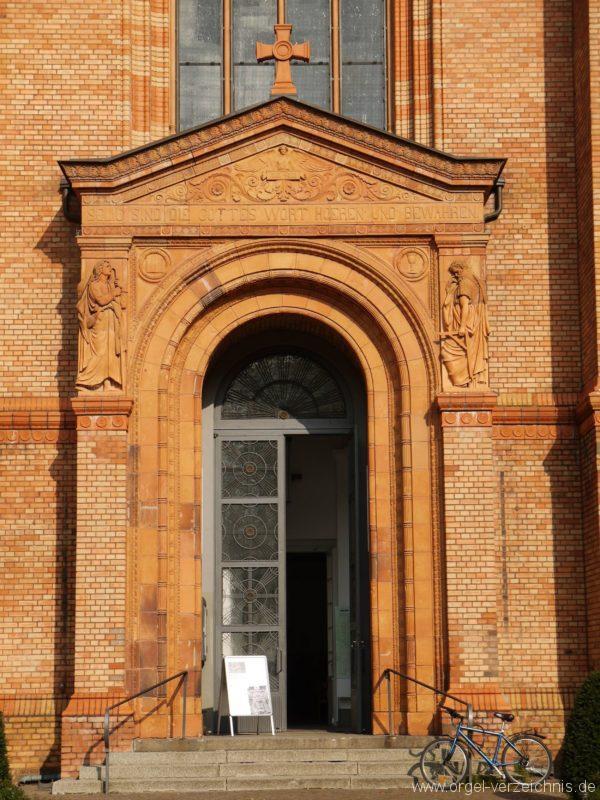 Berlin Kreuzberg St. Thomas Aussenansicht VIII