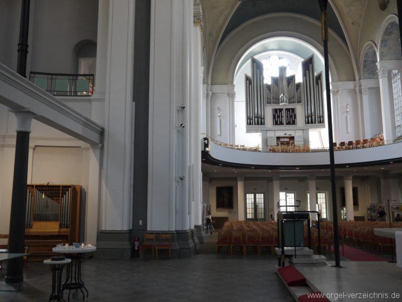 Berlin Kreuzberg St. Thomas Innenansicht IV