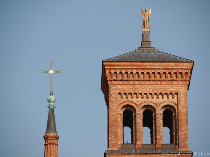 Berlin Kreuzberg St. Thomas Kirchturm I