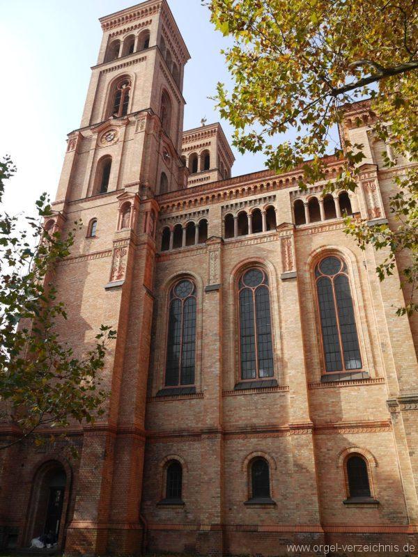 Berlin Kreuzberg St. Thomas Kirchturm III