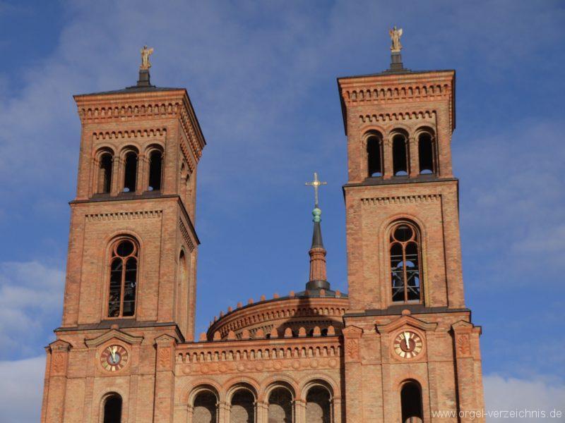 Berlin Kreuzberg St. Thomas Kirchturm V