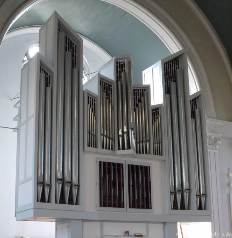 Berlin Kreuzberg St. Thomas Orgelprospekt III