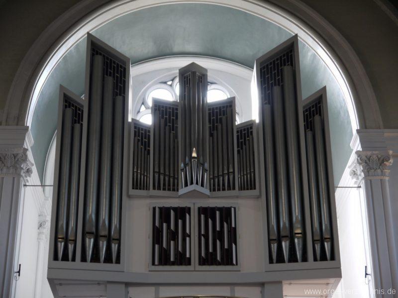Berlin Kreuzberg St. Thomas Orgelprospekt IX