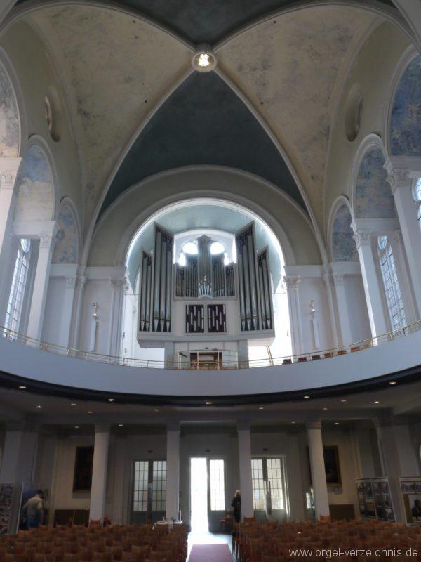 Berlin Kreuzberg St. Thomas Orgelprospekt VI