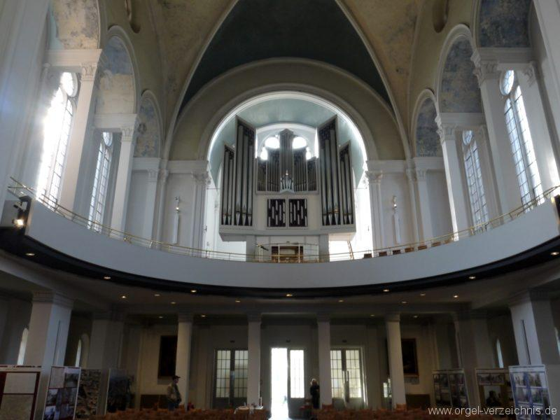 Berlin Kreuzberg St. Thomas Orgelprospekt VII
