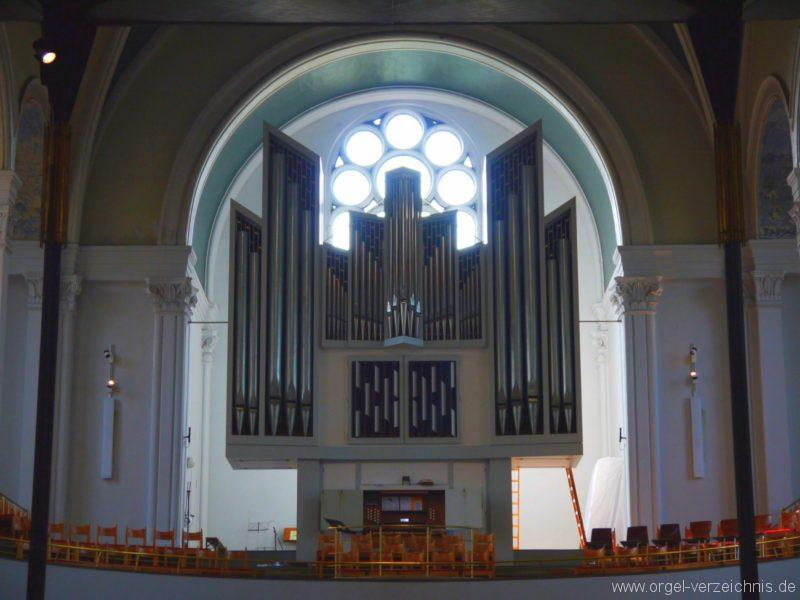 Berlin Kreuzberg St. Thomas Orgelprospekt VIII