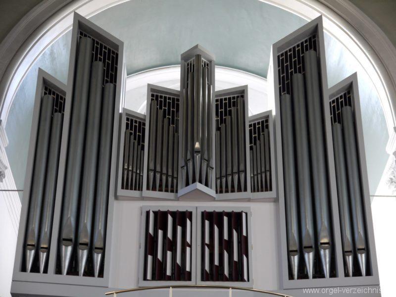 Berlin Kreuzberg St. Thomas Orgelprospekt X