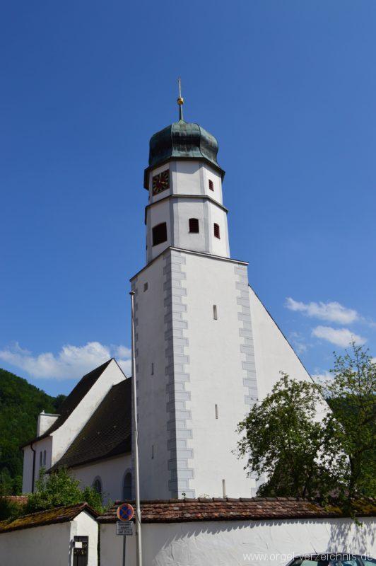 Albstadt Margrethausen St. Margareta Aussenansicht I