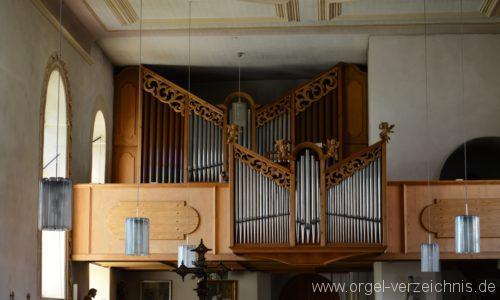 Albstadt Margrethausen St. Margareta Orgelprospekt I