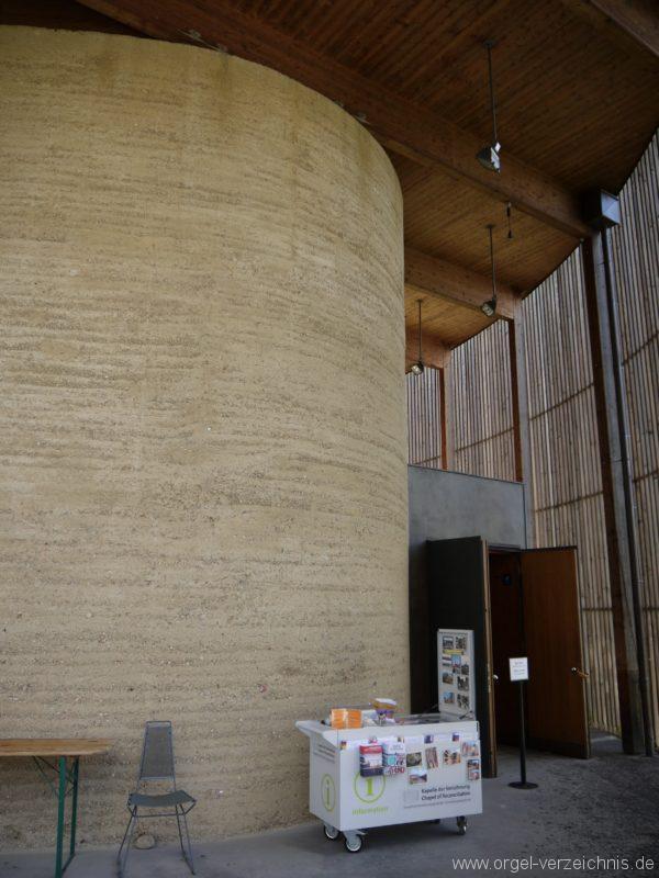 Berlin Mitte Kapelle der Versöhnung Eingangsbereich I