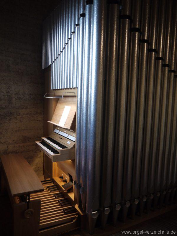 Berlin Mitte Kapelle der Versöhnung Orgelansicht Empore I