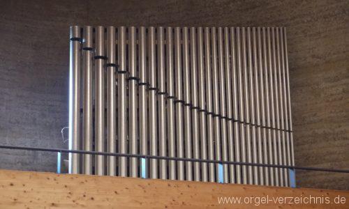 Berlin Mitte Kapelle der Versöhnung Orgelprospekt I