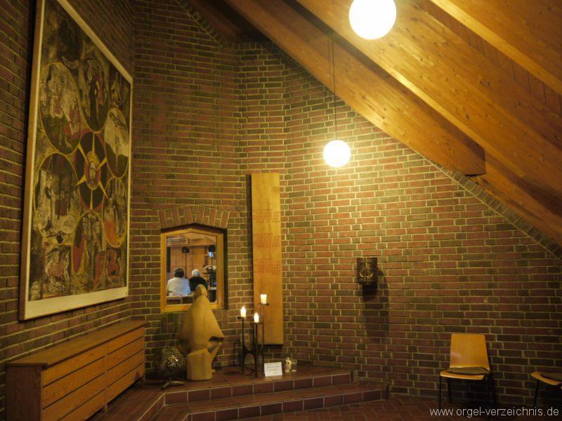 Berlin Neukölln Britz Bruder Klaus Kirche Blick in die Kapelle II