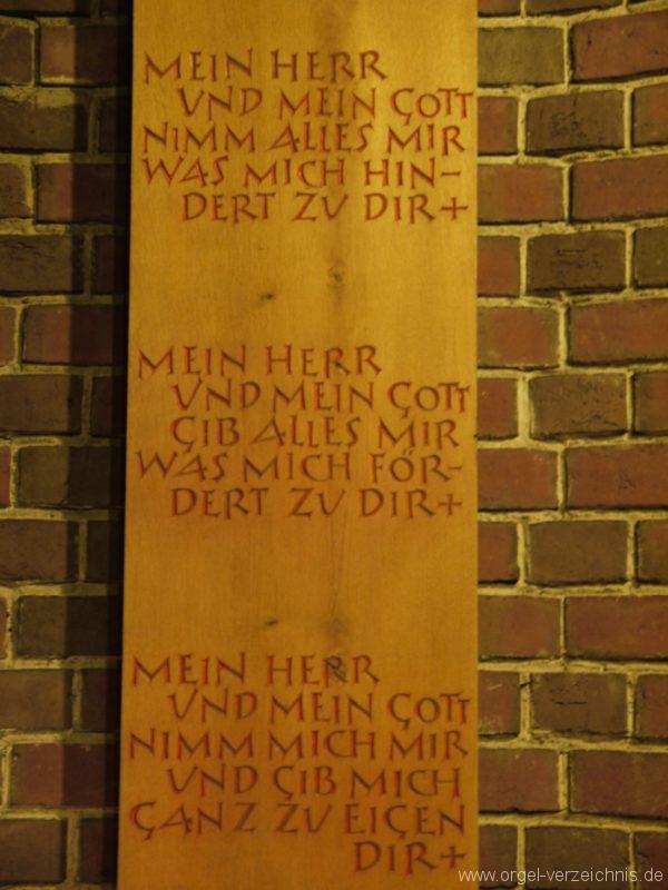 Berlin Neukölln Britz Bruder Klaus Kirche Bruder Klaus Gebet I