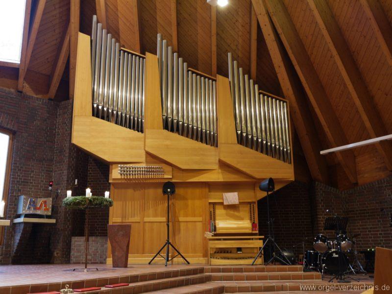 Berlin Neukölln Britz Bruder Klaus Kirche Orgelsprospekt II