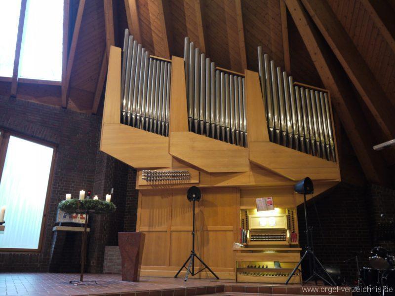 Berlin Neukölln Britz Bruder Klaus Kirche Orgelsprospekt III
